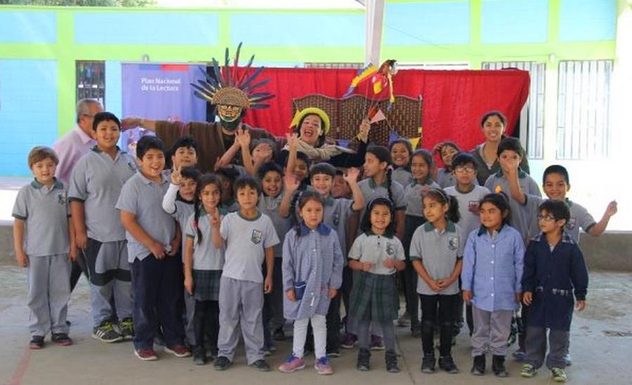 Estudiantes de Amolanas se suman a Plan Nacional de la Lectura