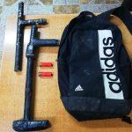 Detienen a menor por porte ilegal de arma de fuego tipo artesanal y munición