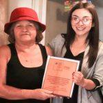 Seremi de Gobierno reconoció a dirigente social con más de 40 años de trayectoria en Tierra Amarilla