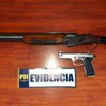 Tres detenidos por porte ilegal de armas en Tierra Amarilla