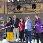 En medio de una Fiesta Ciudadana se inauguró la recuperación del Paseo de las Artes y la Cultura de Tierra Amarilla
