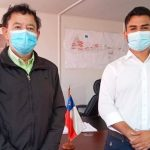 Presidente del sindicato Mina de Minera Candelaria visitó a Alcalde(s) Cristóbal Zúñiga para agradecer su apoyo cuando estuvieron en huelga legal