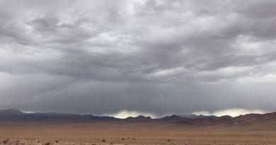 Lluvias y truenos se imponen en el cielo de Atacama